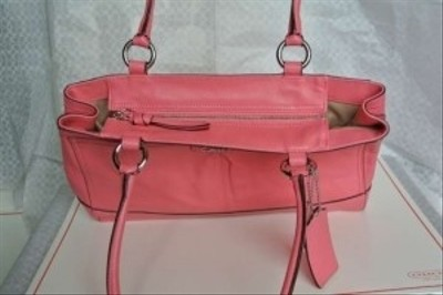 Coach Tote in Punch Pink