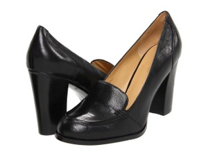 Nine West Oxford Loafer Pump Black Pumps