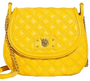 Marc Jacobs Large Cooper Jacobs Cooper Yellow Leather Quilted Cross Body Bag