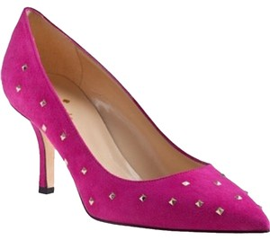 Kate Spade Suede Size 7 Pink Pumps