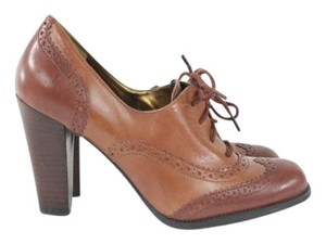 Marc Fisher Brown Heeled Pumps