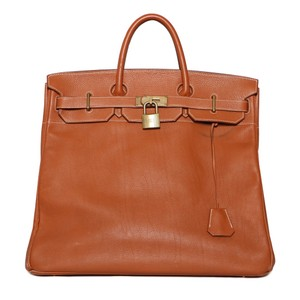 Hermès Satchel in Birkin Brown