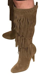 INC International Concepts Taupe Boots