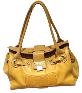 Jimmy Choo Satchel in Mustard