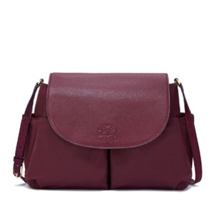 Tory Burch Cranberry Diaper Bag