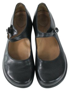 Dansko Black Leather Flats