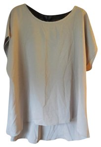 Fashion to Figure Plus-size Dressy Sleeveless Lace Inset New With Tags Tunic