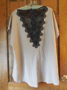 Fashion to Figure Dressy Sleeveless Inset New With Tags High/Low Tunic
