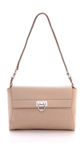Salvatore Ferragamo Ferragamo New Bisque Cross Body Bag