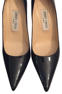 Jimmy Choo Navy Blue Pumps