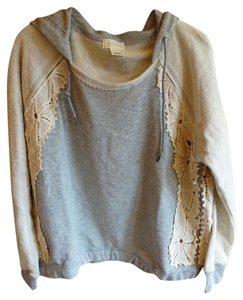 Anthropologie nwt Daisy Lace Hoodie