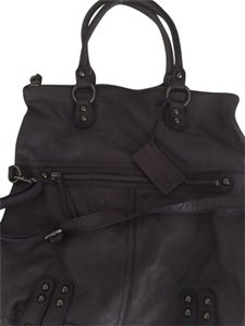 Linea Pelle Tote in Purple