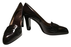 Tod's New Leather Brown Pumps