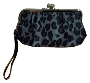 Coach Ocelot Wristlet in grays