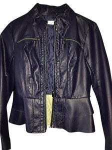 New York & Company Purple Leather Jacket