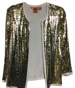 Tory Burch Gold Blazer