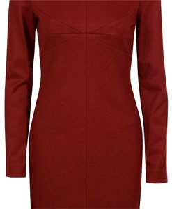 Diane von Furstenberg short dress Deep red on Tradesy