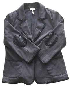 Laundry by Shelli Segal Charcoal Black Blazer