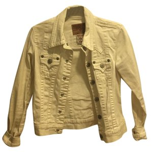 True Religion White Womens Jean Jacket