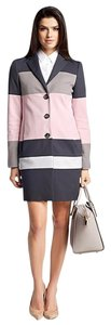 Hugo Boss Grey/Pink/White Jacket