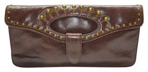 Hobo International Studs Large brown Clutch