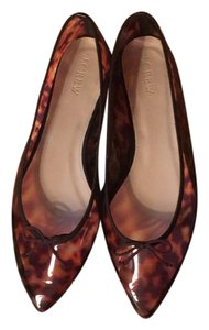 J.Crew Brown Multi Flats