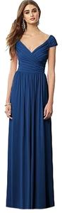 Estate Blue Maxi Dress by After Six Jersey