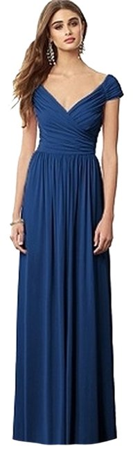 Preload https://item2.tradesy.com/images/after-six-estate-blue-6697-long-casual-maxi-dress-size-0-xs-2016746-0-0.jpg?width=400&height=650