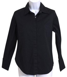 Banana Republic Button Down Shirt Black