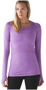 Lululemon Nwt Lululemon Swiftly Tech Long Sleeve Crew Purple Size 2