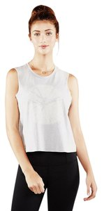 Manduka Adorn Adorn Super Soft Crop Top Feather Grey