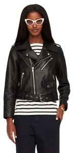 Kate Spade Biker Leather Moto Motorcycle Motorcycle Jacket