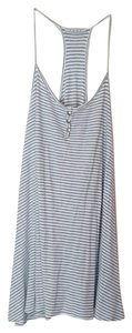 Ezra short dress Gray, White Beachy on Tradesy