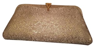 Ivory and Gold Clutch