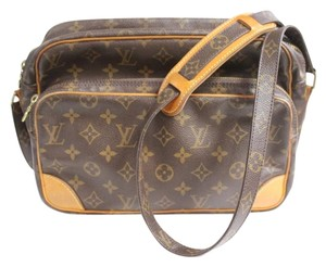 Louis Vuitton Monogram Brown Messenger Bag