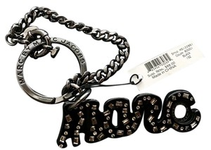 Marc Jacobs Keychain with safety chain