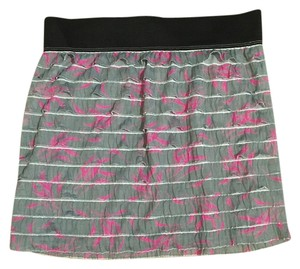 Free People Skirt Gray and Pink