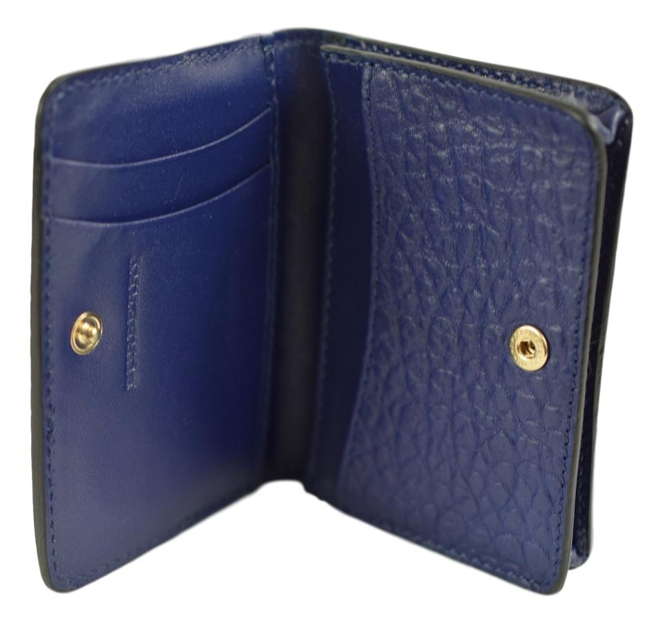 Burberry Blue London Business Card Holder Wallet - Tradesy