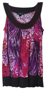 IZ Byer California Top Purple, Pink, Brown