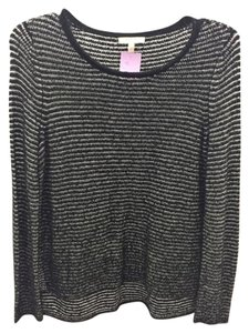 Eileen Fisher Striped Cotton Sweater