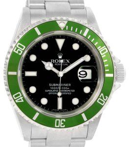 Rolex Rolex Submariner Green Bezel 50th Anniversary Mens Watch 16610LV