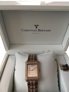 Christian Bernard Rose Gold Diamond Watch