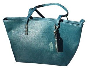 ALDO Tote in Teal Green
