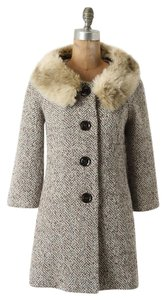 Anthropologie Tabitha Fur Coat