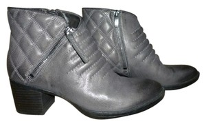 Clarks Padded Inner Sole Leather Gray Boots