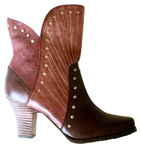 Spring Step Brown&Bordeaux Boots