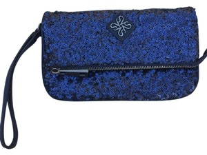 Simply Vera Vera Wang Navy Blue Clutch
