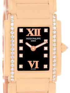 Patek Philippe Patek Philippe Twenty-4 Small 18K Rose Gold Diamond Watch 4908/11R
