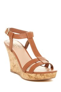 Charles David LT BRWN-WS Wedges