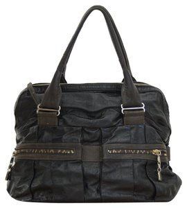 See by Chloé Satchel in Black and Graphite
